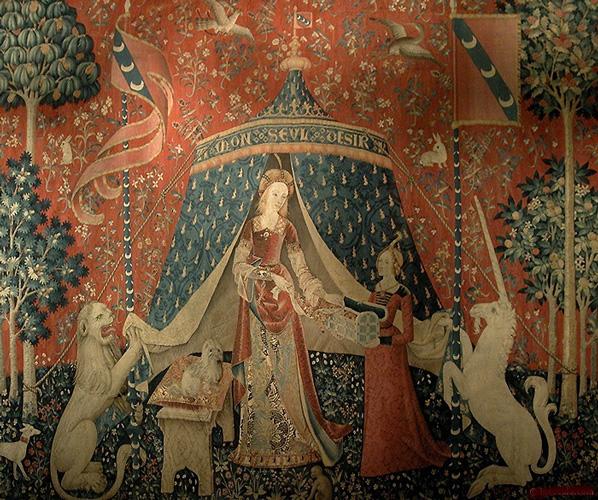 Cuniculture phototh que tapisserie de la dame la licorne - Tapisserie dame a la licorne ...